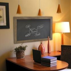 "54""W x 54""H Decorative Wood Framed Blackboard , 80581"