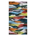 "39""W x 71""H Colorful Ribbons Wall Art, 82729"