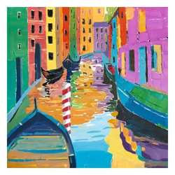 "39""W x 39""H Venice Cruise Wall Art, 82732"