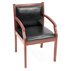Guest Chair with Vinyl Upholstery, 55017