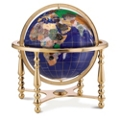 Jewel Inlaid Desktop Globe, 86292