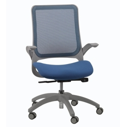 Mesh Back and Fabric Seat Task Chair, 56968-1
