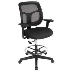Apollo Mesh Drafting Stool, 56889