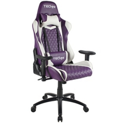 Two Tone Fabric Ergonomic Gaming Chair, 57503