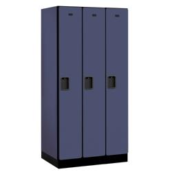 """Three Door Locker 76""""H x 21""""D, 36670"""