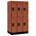 "Six Door Locker 64""H x 21""D, 36663"
