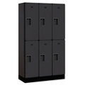 "Six Door Locker 64""H x 15""D, 36667"