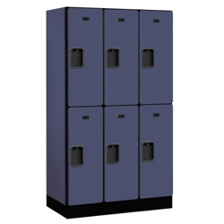 "Six Door Locker 64""H x 18""D, 36668"