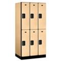 """Six Door Locker 76""""H x 21""""D, 36666"""