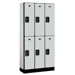 """Six Door Locker 76""""H x 15""""D, 36664"""