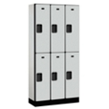"Six Door Locker 76""H x 15""D, 36664"