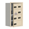 "17.5""W x 25.5""H 6 Door Cell Phone Locker with Combo Lock and Access Panel, 36467"