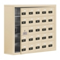 "37""W x 31""H 24 Door Cell Phone Locker with Combo Lock and Access Panel, 36476"