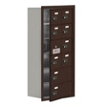 "17.5""W x 36.5""H 9 Door Cell Phone Locker with Combo Lock and Access Panel, 36477"