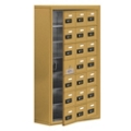 "24""W x 42""H 20 Door Cell Phone Locker with Combo Lock and Access Panel, 36482"