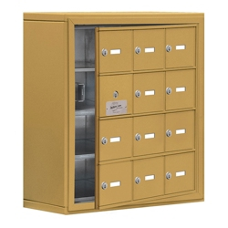 """24""""W x 25.5""""H 11 Door Cell Phone Locker with Key Lock and Access Panel, 36490"""