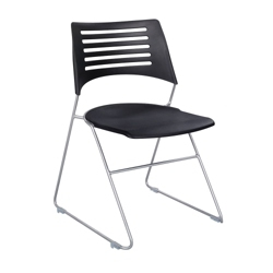 Sled Base Plastic Stack Chair, 51550