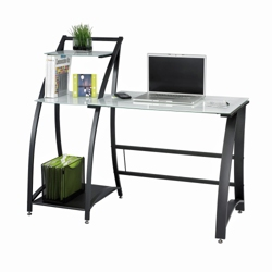 Workstation with Glass Top, 12007
