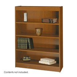 "48""H Four Shelf Square Edge Bookcase, 32118"