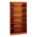 "72""H Six Shelf Square Edge Bookcase, 32120"