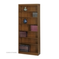 "84""H Seven Shelf Square Edge Bookcase, 32121"