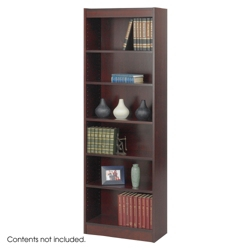 "24""W x 72""H Six Shelf Bookcase, 32123"