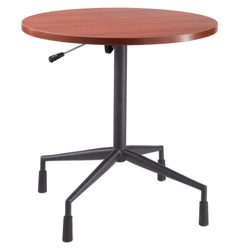 "30"" Diameter Round Adjustable Height RSVP Table, 44633"
