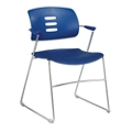 Sled Base Stack Chair with Arms, 51049