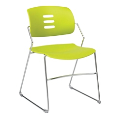 Sled Base Armless Stack Chair, 51050