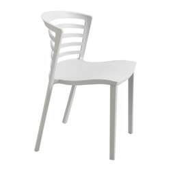 Indoor or Outdoor Resin Stack Chair, 51485