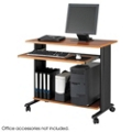 Computer Workstation with Casters, 60992