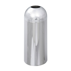 Dome Top Trash Receptacle - 15 Gallon Capacity, 85256