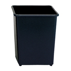 Square Trash Bin - 31 Quart Capacity, 85268