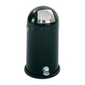 Step On Dome Top Trash Can - 9 Gallon Capacity, 85285