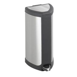Stainless Steel Four Gallon Wastebasket, 91172