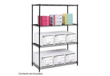 "48"" x 24"" Industrial Wire Shelving Unit, 36370"
