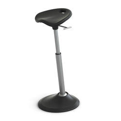 Perch Stool with Foam Seat by Focal Upright, 50932