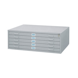 Flat files art and blueprint storage nbf 5 drawer flat file organizer 37123 malvernweather Gallery