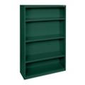 "60""H 4 Shelf Steel Bookcase, 32042"