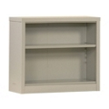 "30""H 2 Shelf Unassembled Steel Bookcase, 32045"