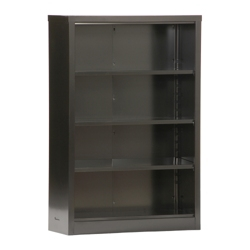 "52""H 4 Shelf Unassembled Steel Bookcase, 32047"
