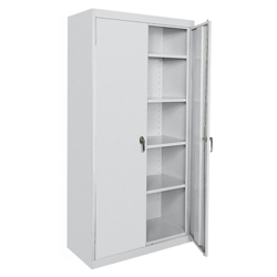 "5 Shelf Steel Storage Cabinet - 36""W x 72""H, 36219"