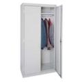 """Steel Wardrobe Storage Cabinet - 46""""W x 72""""H, 36226"""