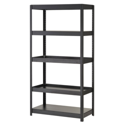 "5 Shelf Heavy Duty Steel Shelving Unit - 36""W x 18""D x 72""H, 36241"