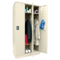 "36""W x 72""H Triple Unassembled Steel Locker Unit, 36244"