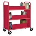 Slanted Six Shelf Book Truck, 36513