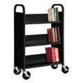 Slanted Three Shelf Book Truck, 36514