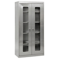 "Five Shelf Clearview Stainless Steel Cabinet - 36""W x 18""D x 72""H, 36607"