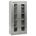 "Five Shelf Clearview Stainless Steel Cabinet - 48""W x 24""D x 78""H, 36609"