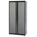 "Jumbo Two Door Lockable Storage Cabinet - 46""W x 24""D x 72""H, 36615"